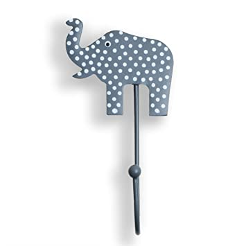 Perchero Elefante gris habitación de los Niños - Perchero ...