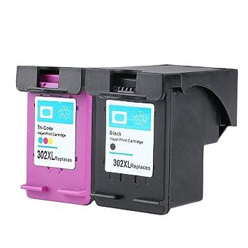 New Non-OEM Ink Cartridge for HP 302 FOR HP-302 DESKJET 2130 1110 1115 2134 2135 3630 Envy 4520 4522 4523 4524