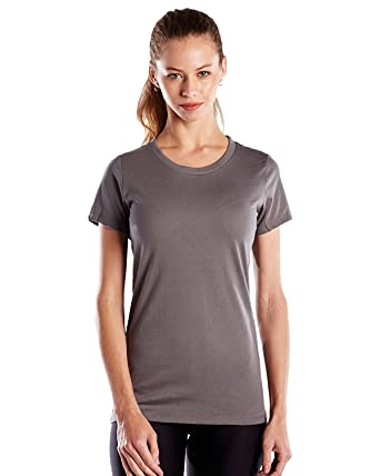 4e3e60216f61f4 Amazon.com: US Blanks Women's Classic Pure Cotton Crew Neck T-Shirt, Made  in USA: Clothing