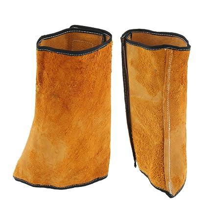 Sharplace Soldadura De 2 Piezas Zapatos De Protección Calzados Para Calzado Calzas Pies Cubierta Soldador Cuero