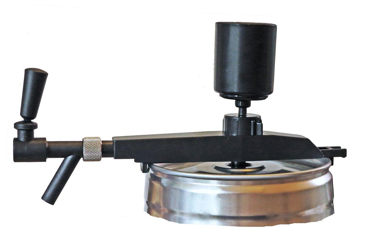 Grifo de cerveza, dispositivo profesional para barriles de 5 litros con CO2 automático y bomba de mano.: Amazon.es: Hogar