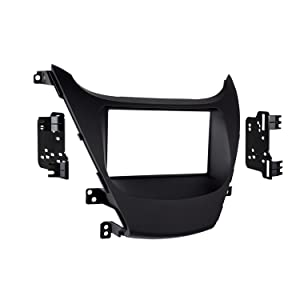 Metra 95-7362B Double DIN Dash Kit for Select 2014- Hyundai Elantra Vehicles (Black)
