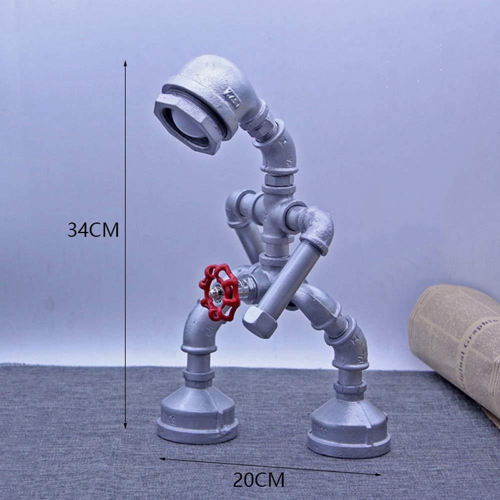 Jtivcs Antiguo andador industrial Robot Tubería de agua ...