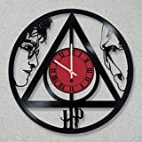 Vinyl Record Wall Clock Harry Potter Voldemort Always decor unique gift ideas for friends him her boys girls World Art Design For Sale
