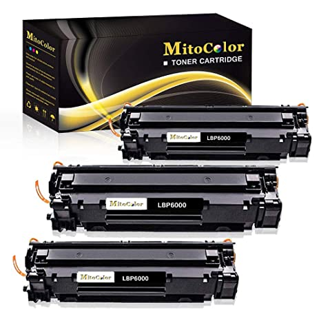 Amazon.com: MitoColor Compatible para LBP6000 Cartucho de ...