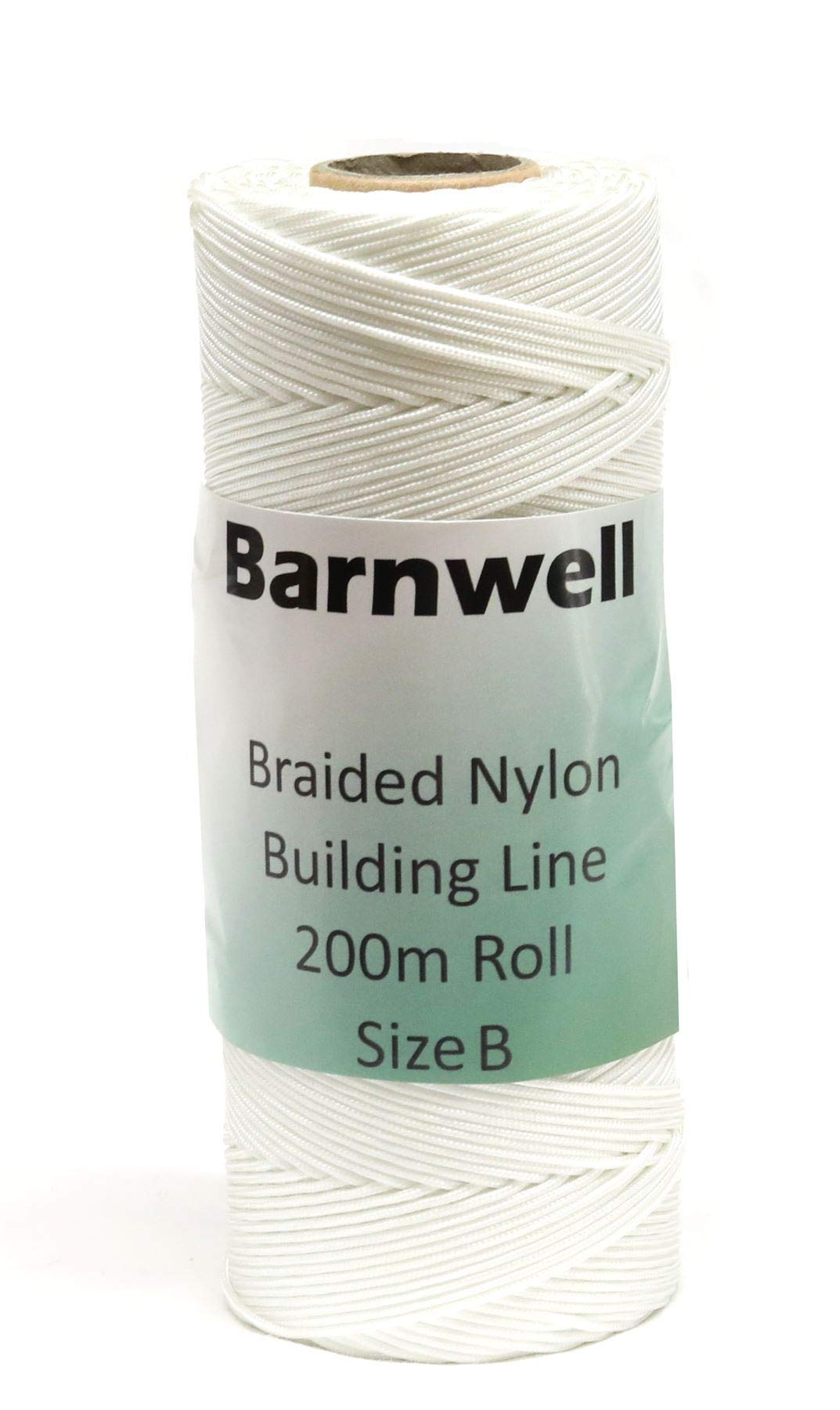Barnwell Braided Nylon Chalk Brick Building Line Large 200m (656ft) Roll Size B Thicker by Barnwell