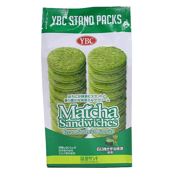 Yamazaki galletas arena Matcha 18 hojas X10 bolsas