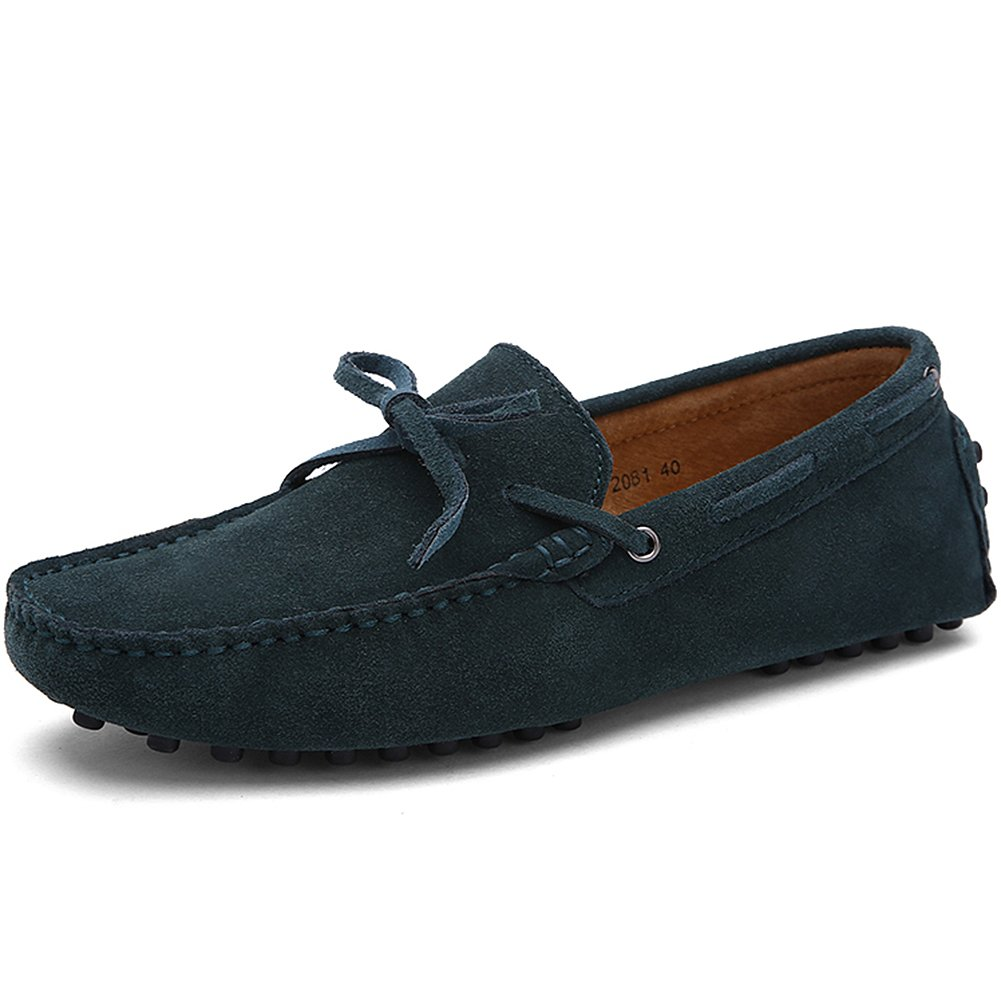 da9428cb7 Jamron Men s Soft Suede Driving Loafers Shoes Handmade Moccasin Slippers  Big Size  Amazon.co.uk  Shoes   Bags
