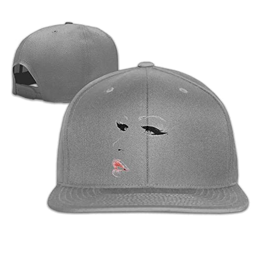 Xieadery Make-up Girls Flat Brim Baseball Cap Adjustable Snapback Trucker Hat  Caps Hip Hop Hat at Amazon Men s Clothing store  60a45ead5d3d