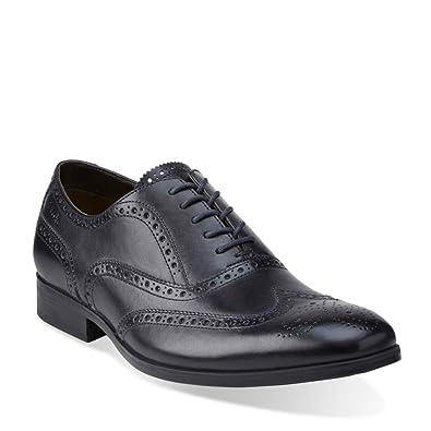 Clarks Men's Banfield Limit,Navy Leather,US ...