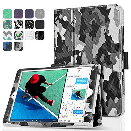 TNP iPad 9.7 Inch 2017 Case / iPad Air 1 Case - Corner Protection Premium PU Leather Folio