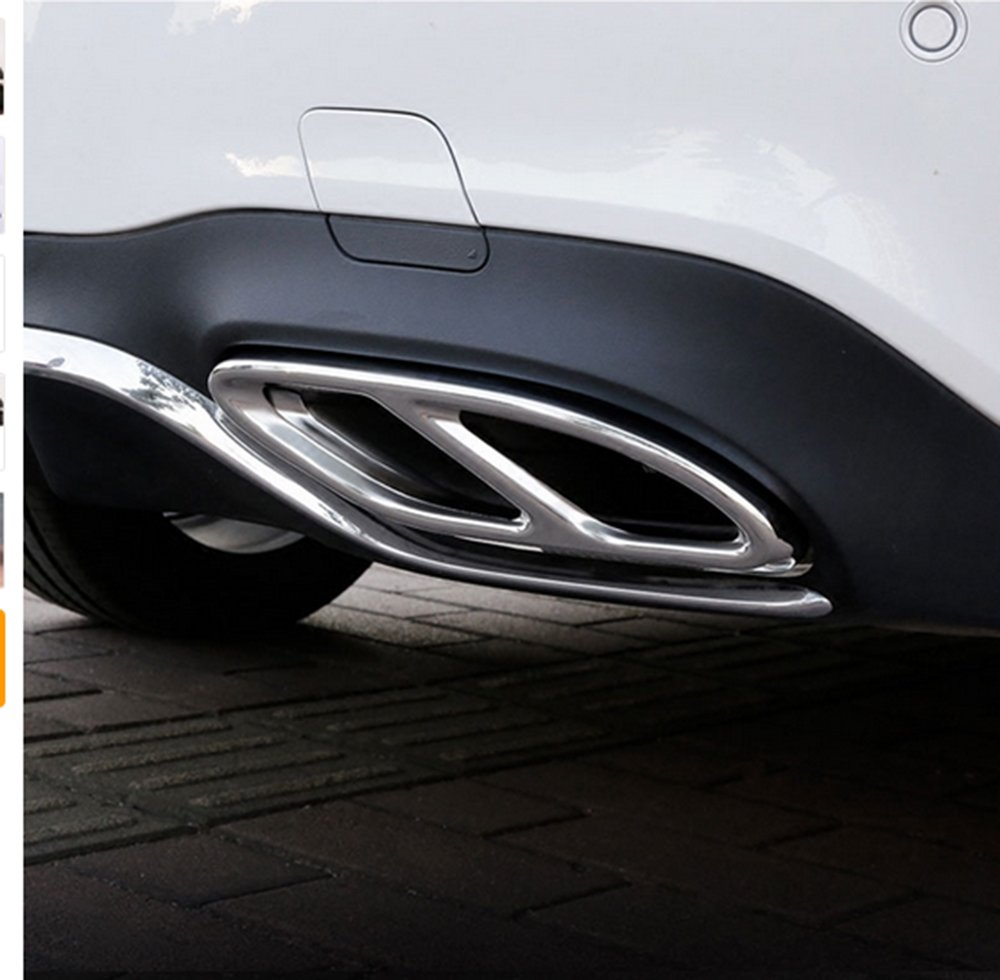 AMG tuyau d' embout &agrave accessoire de voiture AMG complè te la housse de sortie de l' embout du cadre du ré partiteur METYOUCAR