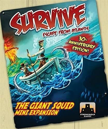 Stronghold Games 001A Survive 30Th Anniversary - Giant Squid Expansion: Amazon.es: Juguetes y juegos