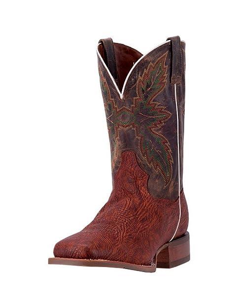b05640ef63d Dan Post Western Boots Mens Clark Orthotic Square 11 EW Cognac ...