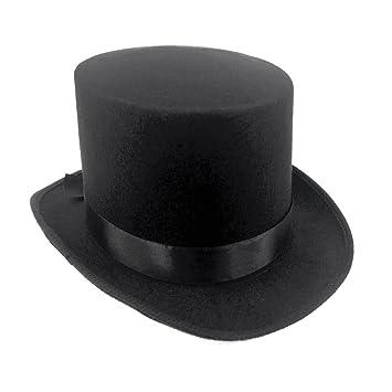 JJMS Sombrero alto rígido de fieltro c9c253784a1