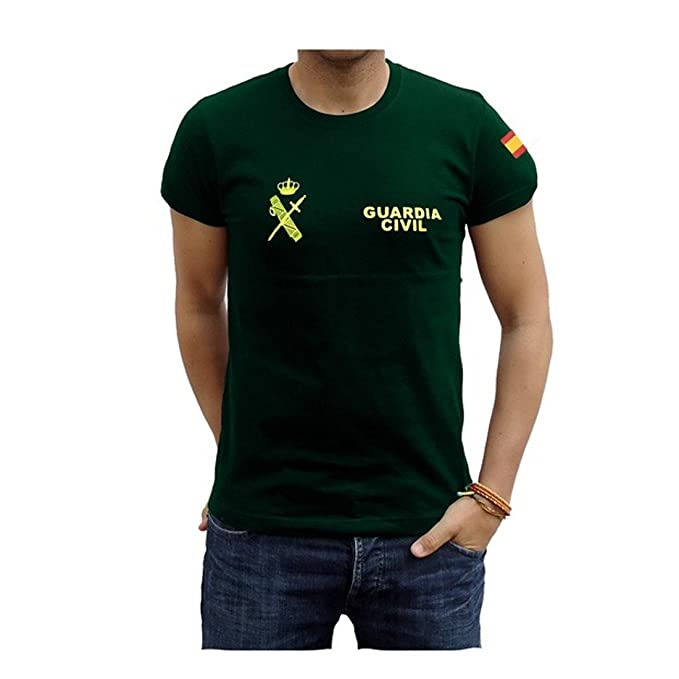 Piel Cabrera Camiseta Guardia Civil
