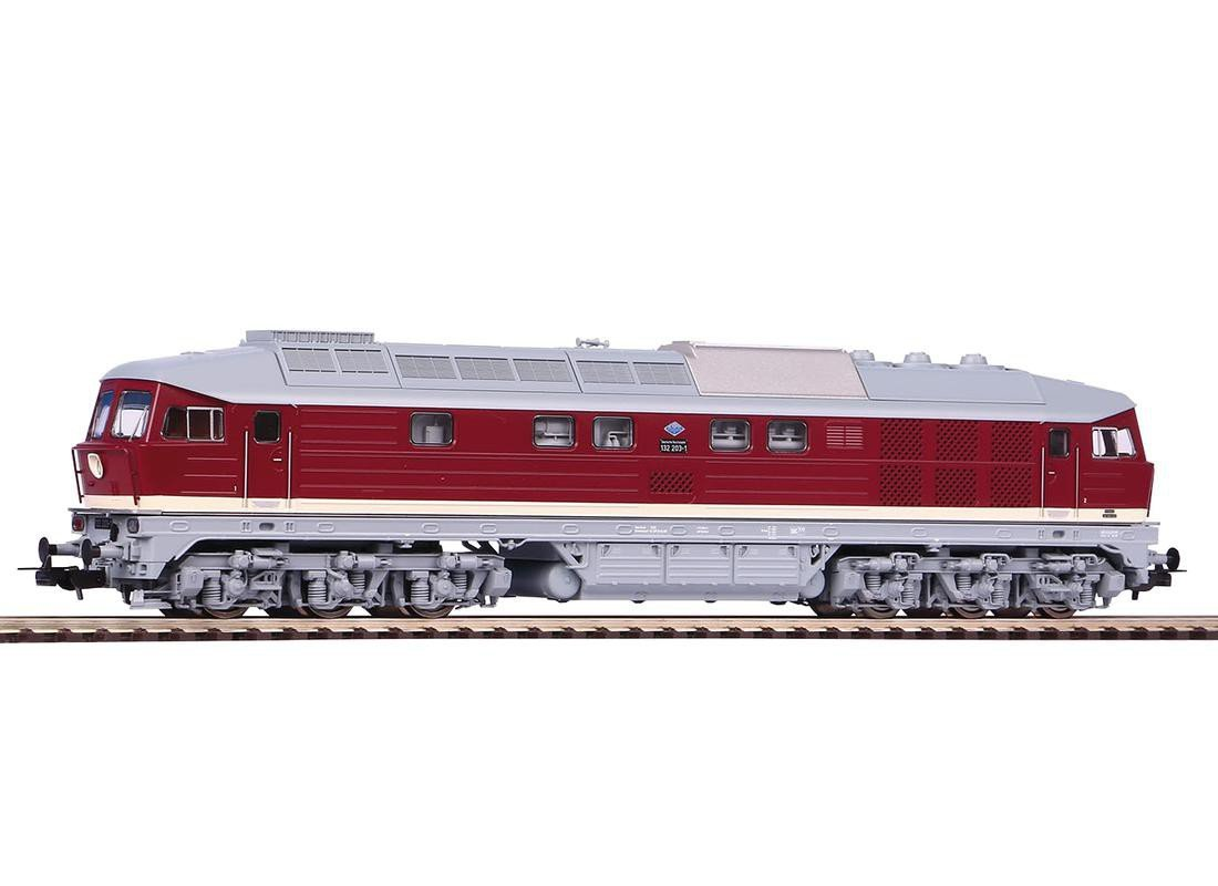 Piko 52767 Diesellok//Soundlok BR 132 295-7 DR IV Wechselstromvariante Schienenfahrzeug