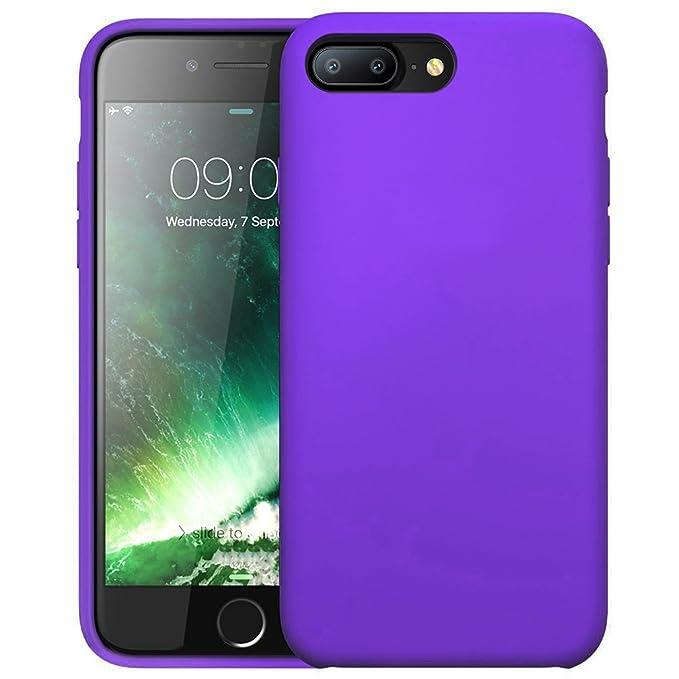 49 opinioni per FIRST2SAVVV viola iPhone 7 plus 5.5 Shock Assorbente Custodia, Apple iPhone 7