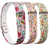 (US) RedTaro 3PCS Replacement Bands for Fitbit FLEX Only / Fitbit Band / Fitbit Flex Band / Fitbit Wristband / Fitbit Flex Wristband / Fitbit Bracelet