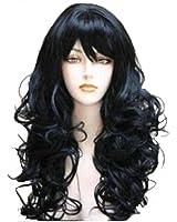 Wigbuy Hair Wigs Wavy Curly 24inche Long Hair for Women
