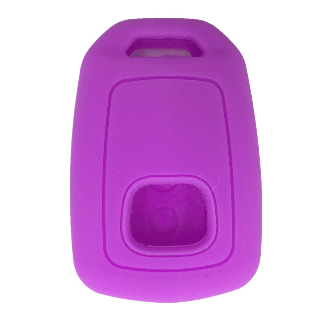 Ezzy Auto Black and Purple Silicone Key Fob Case Key Cover Jacket Holder Protector fit for 2013-2017 Honda Accord Sports