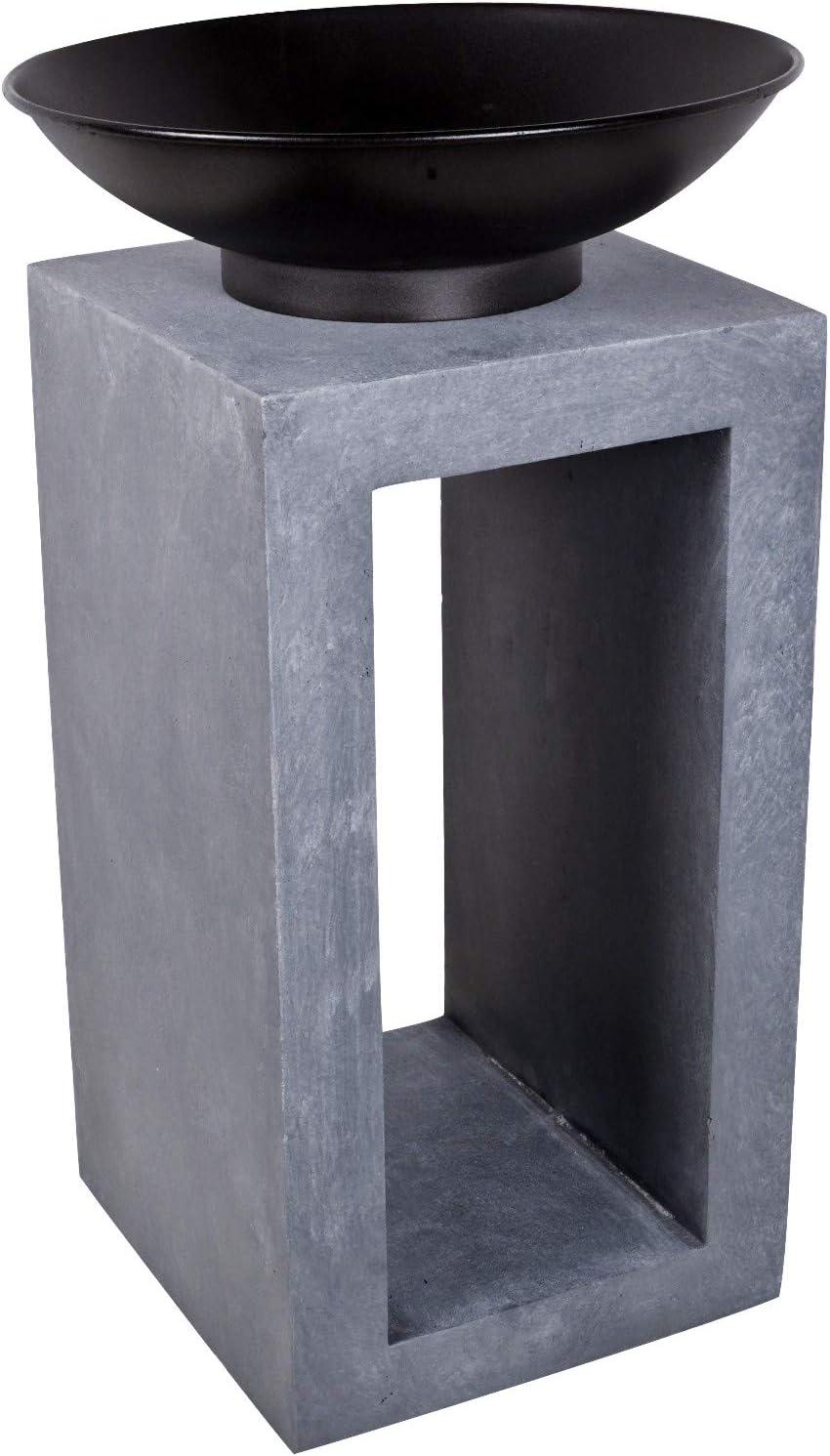 Ciment Ivyline Brasero et carr/és Console 68/cm Brasero