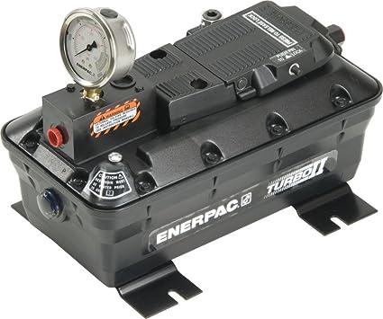Amazon.com: Enerpac PACG-5002SB Turbo II Pump, 5000 SAE, w/ Gauge, w/ Bracket: Home Improvement