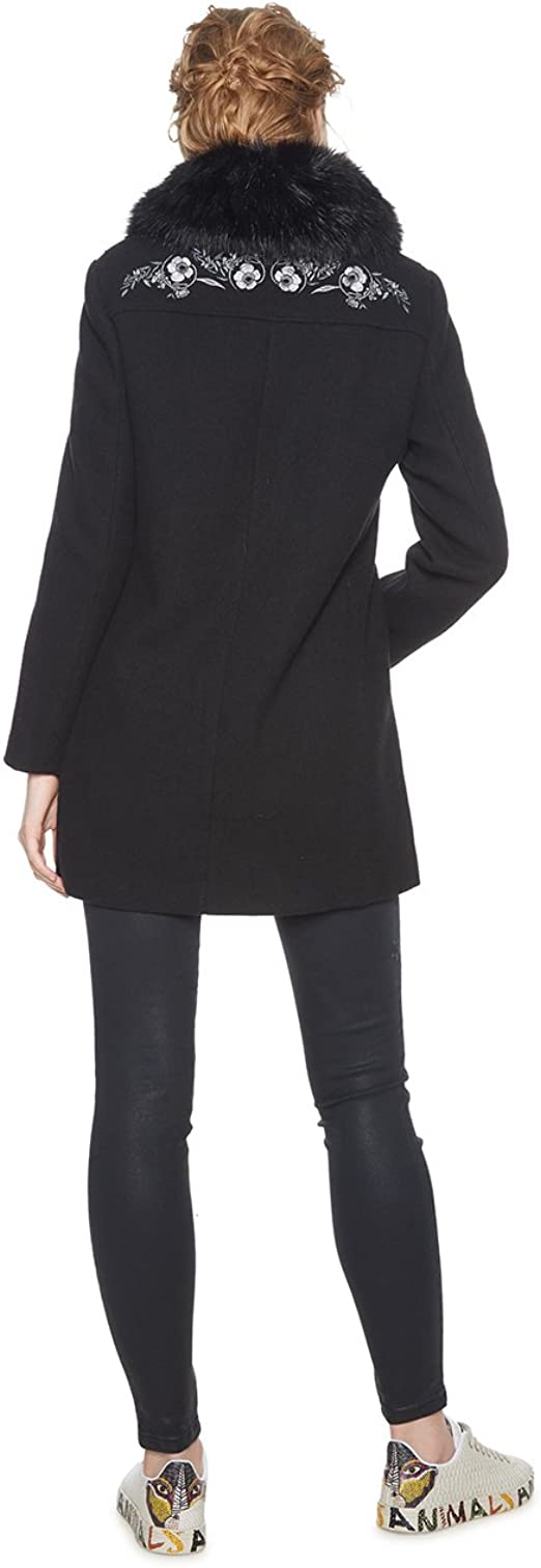 Desigual Coat Mandala Manteau Femme