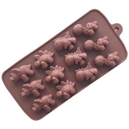 JER moldes para Magdalenas 22 * 10 * 1.5 cm moldes de Silicona Postre Cake Cup