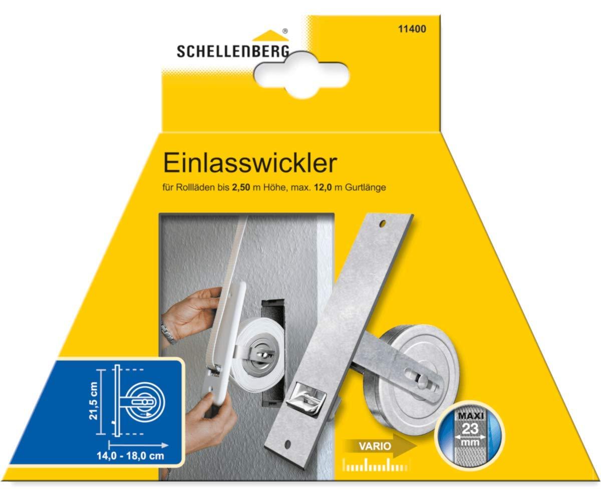 Schellenberg 50200 Einlasswickler Maxi Lochabstand 16.0 cm