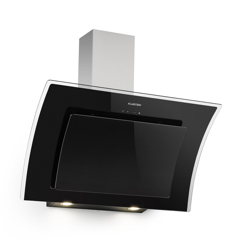 Klarstein Aurora Eco 60 • Campana extractora • 550 m³/h • Bajo consumo • Eco Excellence • Display LED • Balanced Light Concept• 3 niveles • Diseño compacto • Clase fluidodinámica A &bull