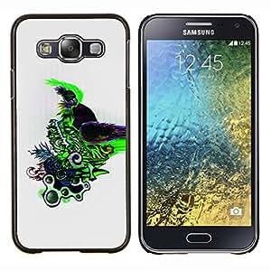 EJOOY---Cubierta de la caja de protección para la piel dura ** Samsung Galaxy E5 E500 ** --Color Diseño abstracto Patrón Draw