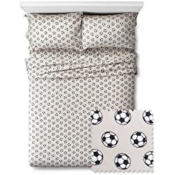 Soccer Sheet Set - Pillowfort (Twin)