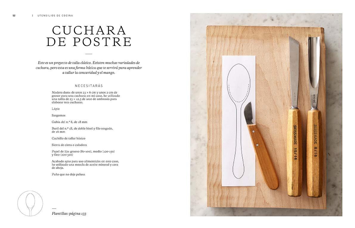 Tallar madera Crea objetos y utensilios con el material más ...