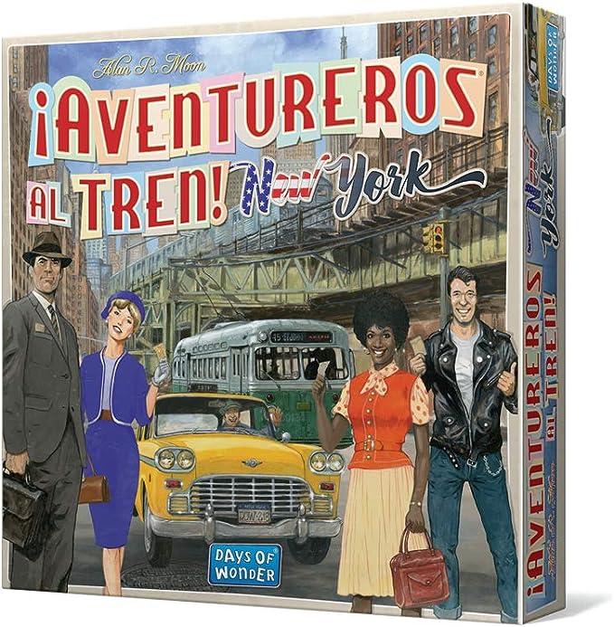 Days of Wonder-¡Aventureros al Tren New York-Español, multicolor ...