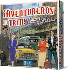 Days of Wonder-¡Aventureros al Tren New York-Español, multicolor (Edge Entertainment DW720860) , color/modelo surtido: Amazon.es: Juguetes y juegos