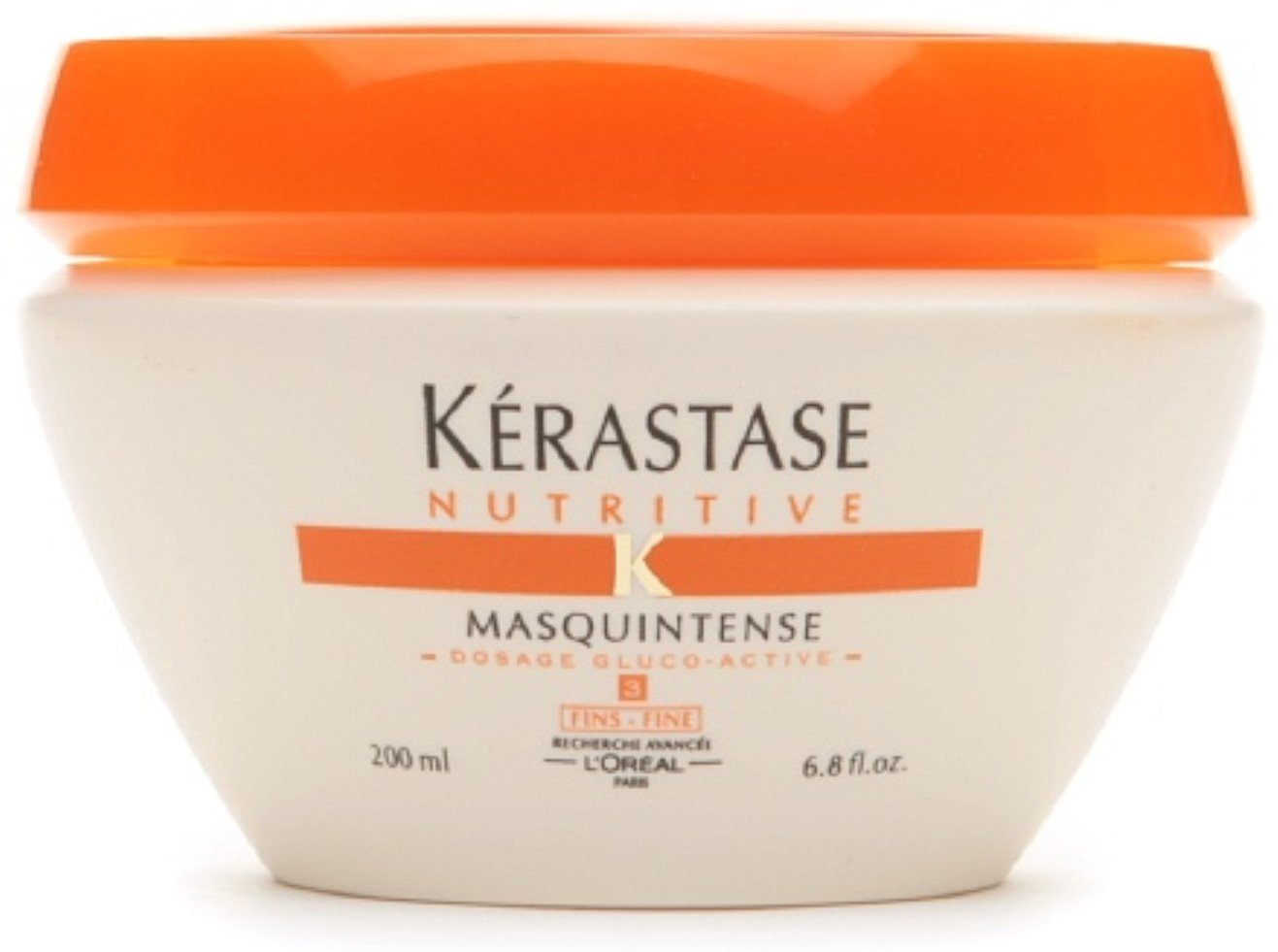 Kerastase Nutritive Masquintense Intense Highly Concentrated Nourishing Treatment, Thick 6.8 oz (Pack of 3)