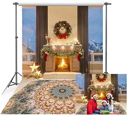 150 X 220 Cm Weihnachtshintergrund Für Den Kamera