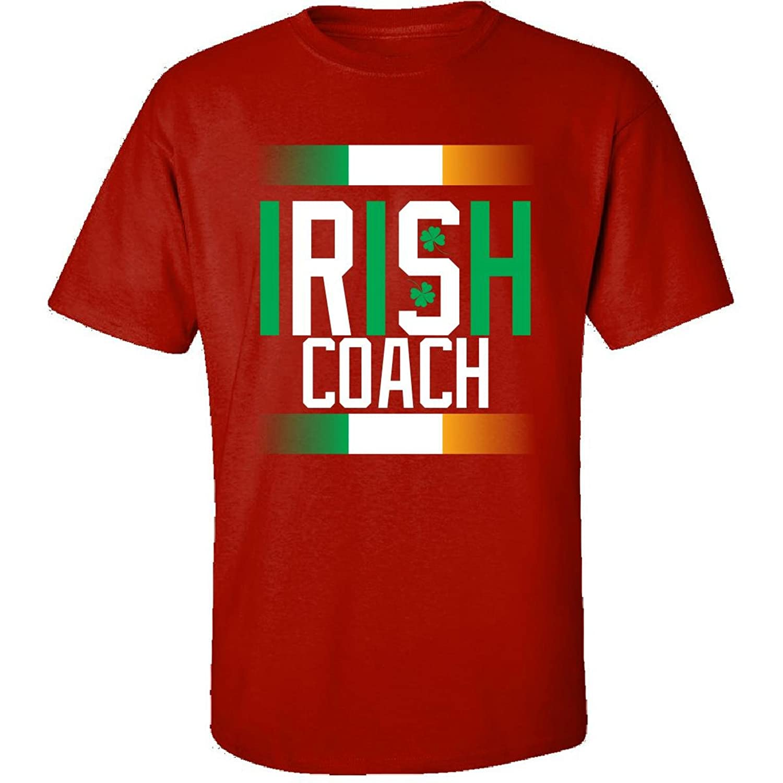 Irish Coach Beautiful St Patrick Day Gift For Coach - Adult Shirt