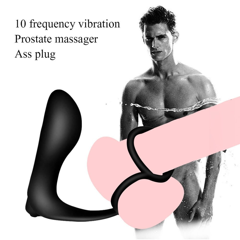 Yeefant Silicone Waterproof G-Point Stimulate Prostate Massager A-n-a-l V-ibrator S-e-x Toys