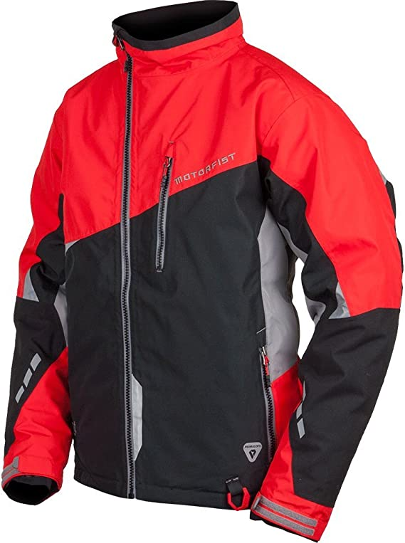 Black//Orange, Small Motorfist Mens Redline Jacket