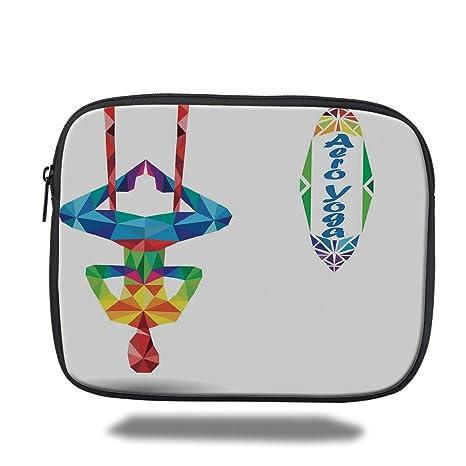 Amazon.com : iPrint iPad Bag, Yoga, Aerial Aero Anti Gravity ...