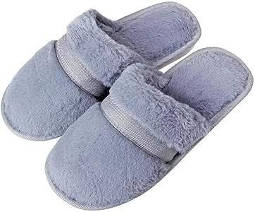 WSKMTX Zapatillas De Algodón para Mujer,Otoño Invierno Par Inicio ...