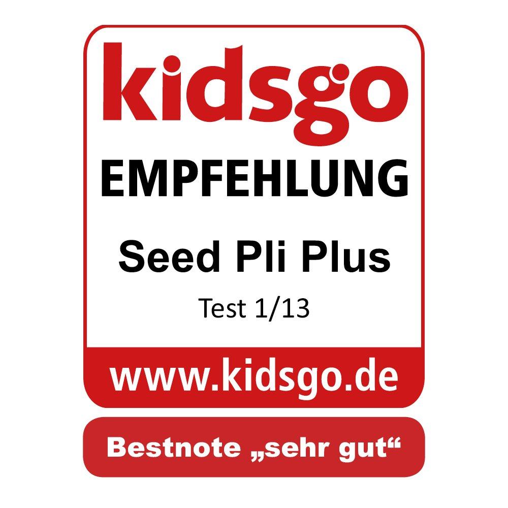 Seed 91215/pli Plus Poussette combin/ée Noir