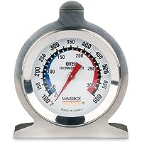 Maverick Housewares Redi-Chek - Termómetro para horno, color plateado