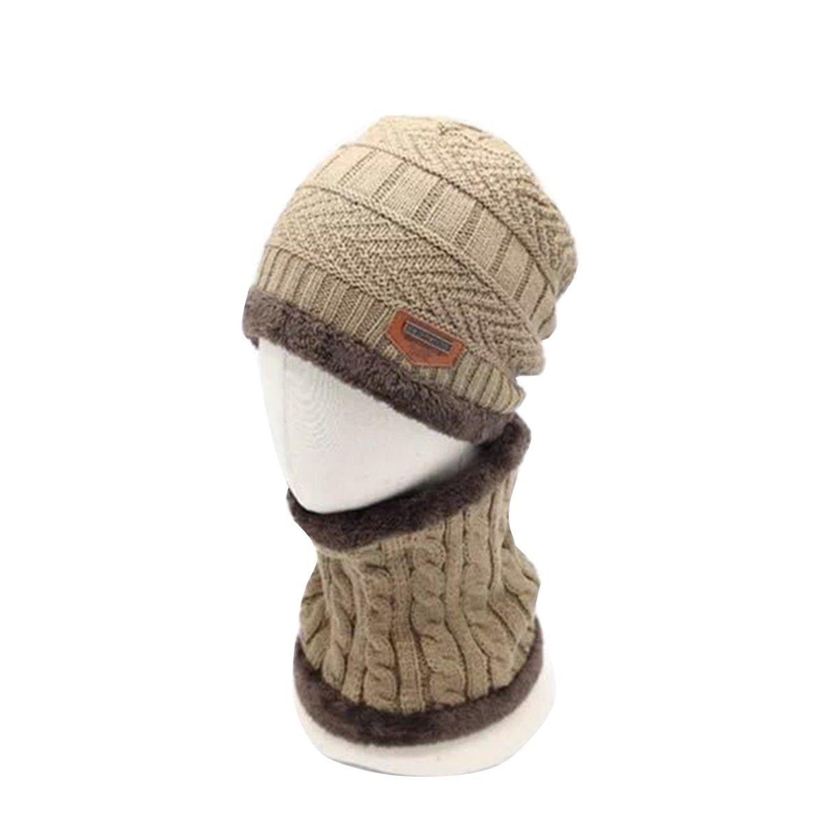 butterme Forro Polar de Invierno Infantil Beanie sombrero y bufanda ...