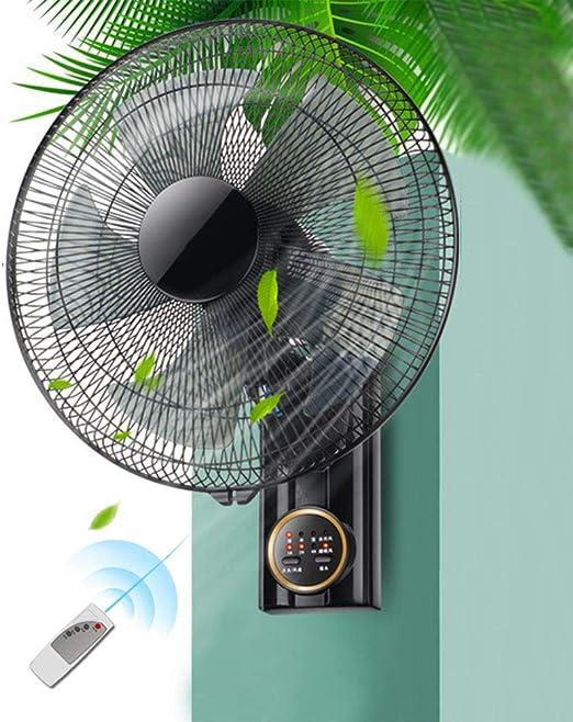 Wall Fan ALY® Ventilador De Pared Oscilante, Silencioso, Mando A ...