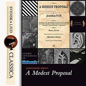 A Modest Proposal Audiobook