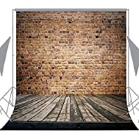 Ouyida Brick walls and wood floors 10X10FT Pictorial cloth Customized photography Backdrop Background studio prop TD103