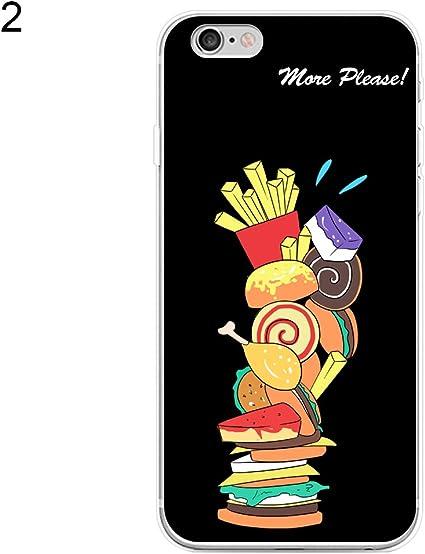 Bistorte Mignon Dessin animé Hamburger Frites PC Cadre Clair ...